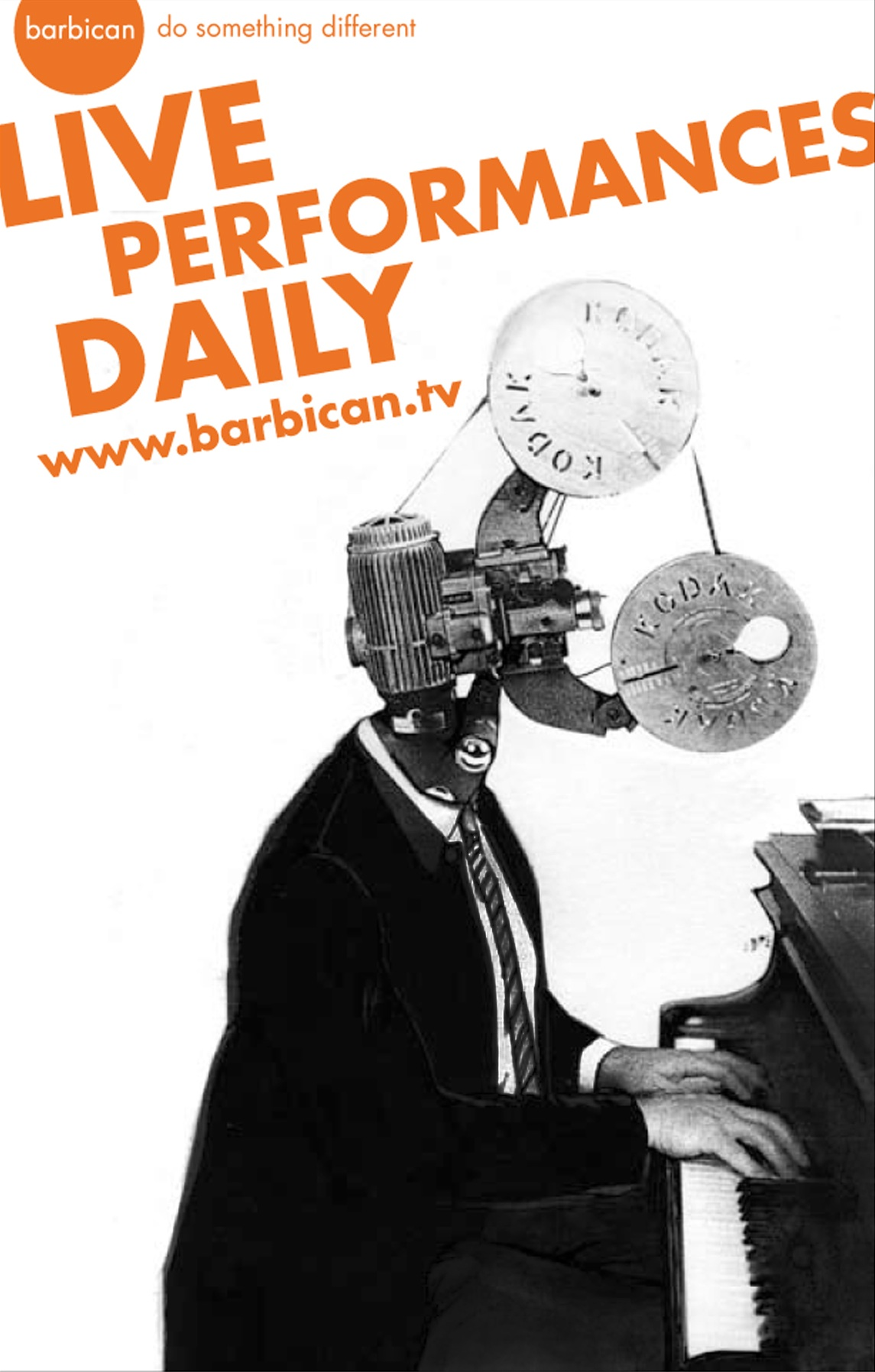 The Barbican TV - Live Performances Daily poster illustration